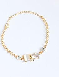 abordables -Femme Chaînes & Bracelets Bracelets de tennis - Personnalisé Irrégulier Animal Or Bracelet Pour Anniversaire Cadeau Quotidien