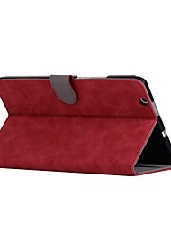 cheap -Case For Huawei Full Body Cases Tablet Cases Solid Hard PU Leather for