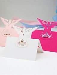Marque-place(,Papier durci) -Thème de conte de fées Fête prénatale Autres rustique Theme Mariage Naissance Anniversaire Personnalisé