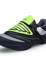 Недорогие -Мальчики обувь Искусственное волокно Зима Осень Удобная обувь Спортивная обувь Для велоспорта для Атлетический на открытом воздухе Черный
