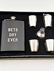 cheap -Others Hip Flasks Party Accessories Party / Evening Holiday Material Stainless Steel