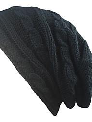 Недорогие -Универсальные Шапки Широкополая шляпа - Чистый цвет Хлопок, Однотонный