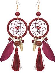 cheap -Women's Drop Earrings Hoop Earrings Basic Fashion Alloy Round Jewelry For Wedding Daily