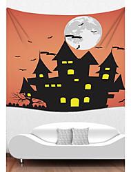 Décoration murale Polyester Halloween Art mural,1