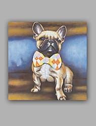Peint à la main Animal Grande occasion Style artistique Artistique Style classique Un Panneau Toile Peinture à l'huile Hang-peint For