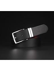 cheap -Men's Work Active Basic Alloy Waist Belt - Solid Colored