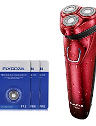 cheap -FLYCO FS338 Electric Razor Shaver Three Spare Heads 100240V Washable