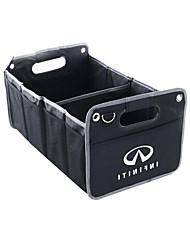 Vehicle Trunk Car Organizers For Infiniti All years Fabrics