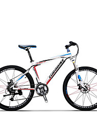Bicicleta De Montanha Ciclismo 27 velocidade 26 polegadas/700CC SHIMANO M370 Freio a Disco Suspensão Garfo Anti-Escorregar Aluminum Alloy