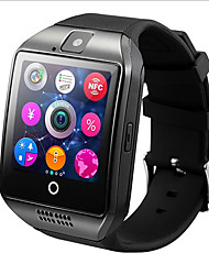 hhy q18 smart watch con fotocamera touch tf card per touch screen ios iphone