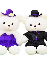 Stuffed Toys Dolls Toys Bear Wedding Dress Animal Not Specified Pieces