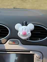 perfume de parabens de ar de automóveis rosa mickey atende a fragrância do purificador de ar automotriz do mar
