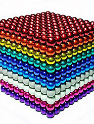 cheap -216 pcs 5mm Magnet Toy Magnetic Balls / Building Blocks / Puzzle Cube Neodymium Magnet DIY Unisex Kid's / Adults' Gift