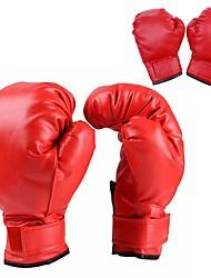 Недорогие -Тренировочные боксерские перчатки Для Бокс Полный палец Защитный, Прочный Кожа Детские