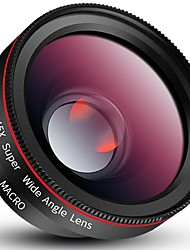 Lentilles de caméra fengmangshidai pour smartphone Objectif grand angle 0.45x Lentille macro optique de 12.5x pour ipad iphone huawei