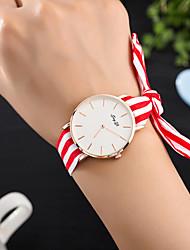 cheap -Women's Unique Creative Watch Wrist watch Fashion Watch Casual Watch Quartz Hot Sale Fabric Band Charm Luxury Creative Casual Elegant Cool