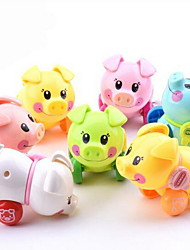 cheap -Educational Toy Wind-up Toy Toy Cars Toys Pig Plastics Pieces Not Specified Gift