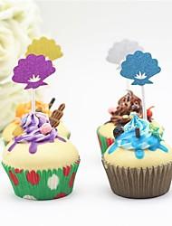 Cake Topper Paper Wedding Birthday Garden Theme Holiday Fairytale Theme Baby Shower Others Romance Floral/Botanical Wedding Birthday PVC