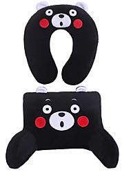 preiswerte -Automobil Kopfstütze & Taille Kissen Kits Für Universal Alle Jahre Hüftkissen fürs Auto Stoffe