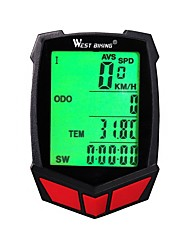 cheap -WEST BIKING® Bike Computer/Bicycle Computer Odometer Stopwatch Waterproof Wireless Speedometer Mountain Cycling Cycling Road Bike Cycling