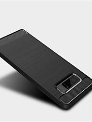 preiswerte -Hülle Für Samsung Galaxy Note 8 Mattiert Rückseitenabdeckung Volltonfarbe Weich TPU für Note 8