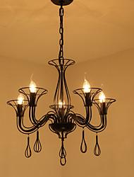 nordic contratto droplight di personalità creativa ferro battuto ristorante bar ristorante lampada da tavolo lampada stile americano e