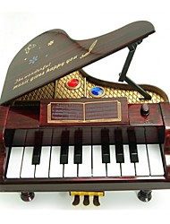 Caixa de música Brinquedos Piano Plásticos Peças Unisexo Dom