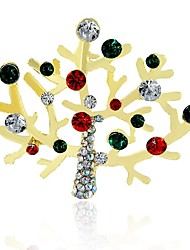 cheap -Men's / Women's Synthetic Diamond Rhinestone Brooches - Classic / Christmas Irregular Assorted Color Brooch For Christmas / Other