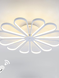 cheap -Dimmable Modern LED 150W Ceiling Light Flush Mount Alumilium Painting with Remoter Dimmer for Living Room Bed Room