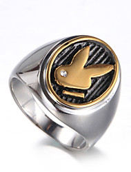 cheap -Men's - Titanium Steel Luxury, Vintage, Punk 7 / 8 / 9 Gold / Silver For Birthday / Gift / Daily