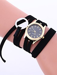 cheap -Clock Women's Watches Newly Fashion Leather Bracelet Weaving Best Wrist Watch Generously High Quality Charming Nurse Watch M/4