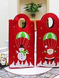 porte-bouteilles de vin pour la décoration de vin, cadeaux de noël et de fête