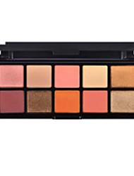 Lidschattenpalette Trocken Lidschatten-Palette Alltag Make-up