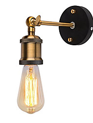 cheap -1pcs Modern Vintage Loft Adjustable Industrial Metal Wall Light retro brass wall lamp country style Sconce Lamp Fixtures AC80-240V