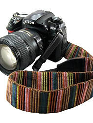 Camera Strap Universal Shoulder Neck Strap Vintage Anti-slip Belt for All SLR/DSLR Camera (Nikon Canon Sony Pentax etc)-Brown
