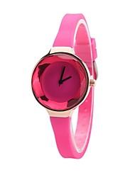 Per donna Bambini Orologio alla moda Orologio braccialetto Orologio casual Cinese Quarzo Cronografo Resistente all'acqua Silicone Gomma