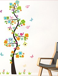 Animaux Bande dessinée Romance Stickers muraux Autocollants avion Autocollants muraux décoratifs Matériel Décoration d'intérieur Calque