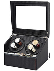 cheap -Watch Boxes Repair Tools & Kits Watch Winder Box leather Watch Accessories 30.5*24.5*17.5 2.0