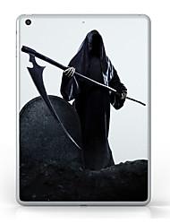 Pour iPad (2017) Etuis coque Transparente Motif Coque Arrière Coque Transparente Halloween Flexible PUT pour Apple IPad pro 10.5 iPad
