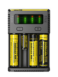 Nitecore NEW-I4 Battery Charger Flashlight Accessories Portable Professional High Quality Plastic for