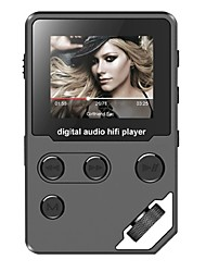 economico -Hi-FiPlayer8GB Jack da 3,5 mm Scheda TF 128GBdigital music playerPulsante