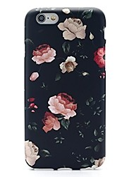 Til iPhone X iPhone 8 iPhone 7 iPhone 7 Plus Etuier Ultratyndt Mønster Bagcover Etui Blomst Blødt TPU for Apple iPhone X iPhone 8 Plus