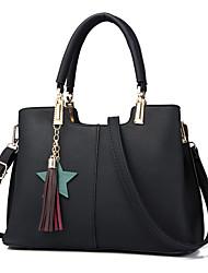 cheap -Women Bags PU Shoulder Bag Zipper for Shopping Casual Winter All Seasons Black Blushing Pink Dark Blue Gray Wine