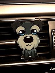 car air outlet griglia profumo carino creativo cucciolo automotive purificatore d'aria