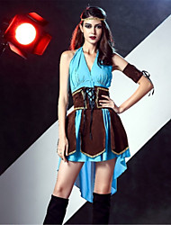 abordables -Pirata Disfrace de Cosplay Adulto Halloween Festival / Celebración Disfraces de Halloween Moda Cosecha