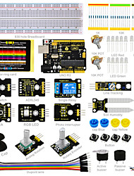 kit sensore keyestudio - k4 per arduino starter kit compatibile arduino uno r3 board adl345joystickrelayrgb led19projects