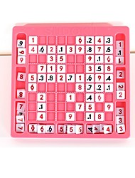 Board Game Sudoku Puzzles Chess Toys Number Characters School Professional Level New Design Kids Adults' 1 Pieces