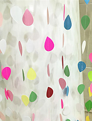 cheap -2M Colorful  Paper-Water-Drop  Wedding Birthday Party Background Wall Hanging Decoration Garland