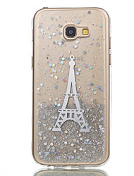 preiswerte -Hülle Für Samsung Galaxy A5(2017) A3(2017) Muster Rückseite Eiffelturm Weich Silikon für A3 (2017) A5 (2017)