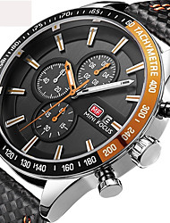 cheap -Men's Quartz Wrist Watch / Military Watch / Sport Watch Japanese Calendar / date / day / Chronograph / Water Resistant / Water Proof /